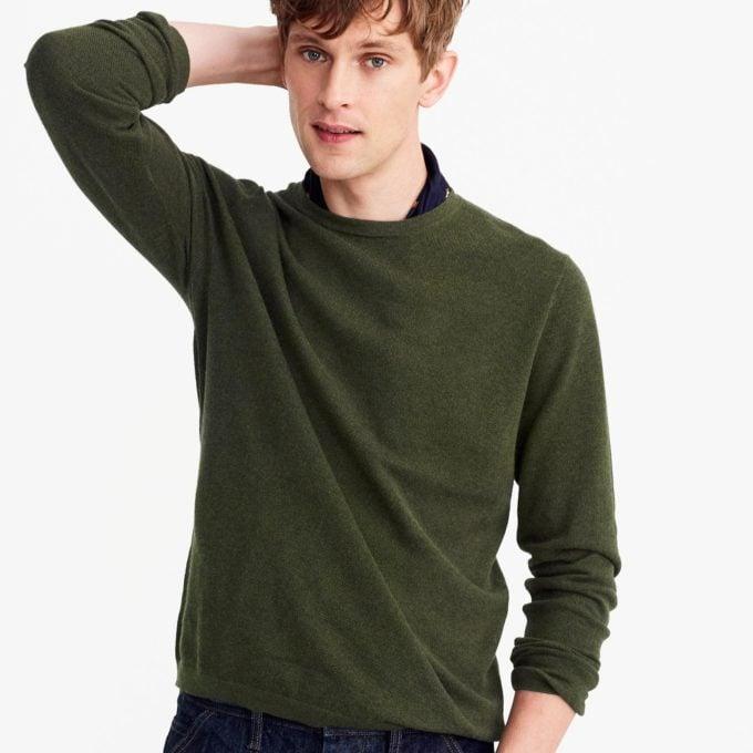 J. Crew cashmere sweater