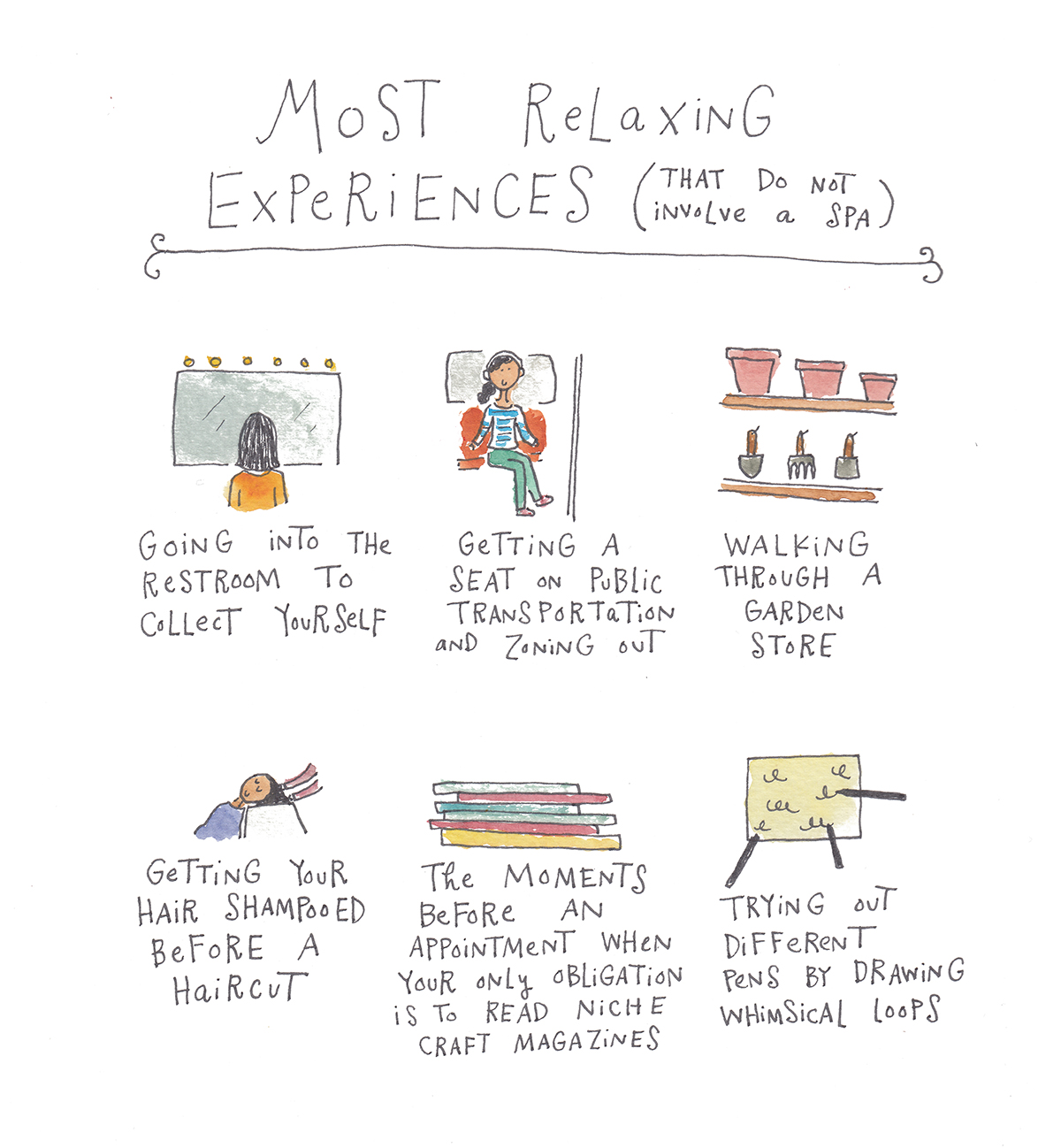 Relaxing Experiences
