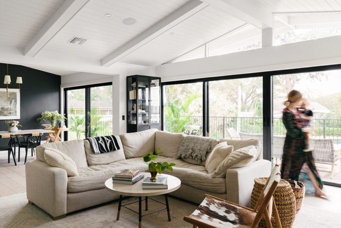 Anna Bond's Black-and-White Florida Home