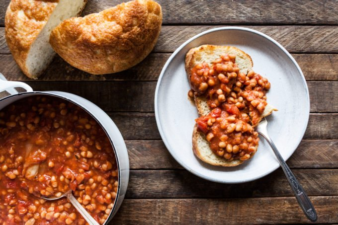 Crock-Pot Tomato White Beans