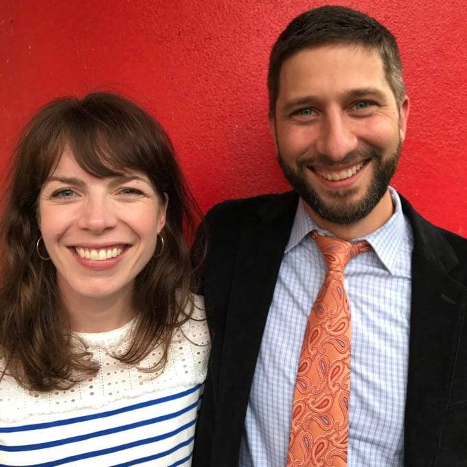 Lucy Kalanithi and John Duberstein