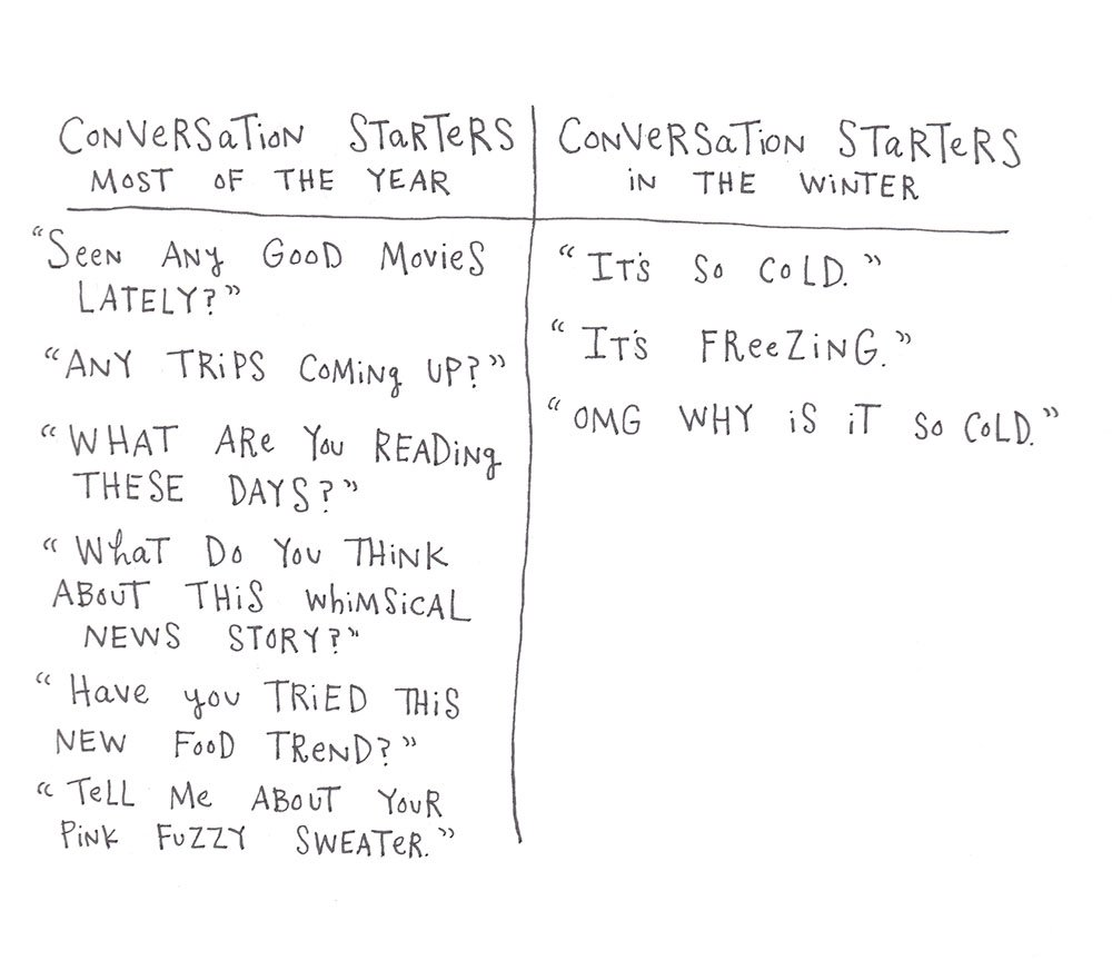 Winter Small Talk