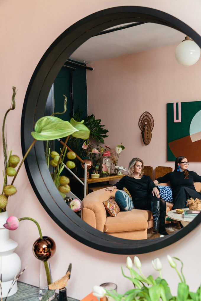 These Two Sisters Live Together In A Color Explosion A