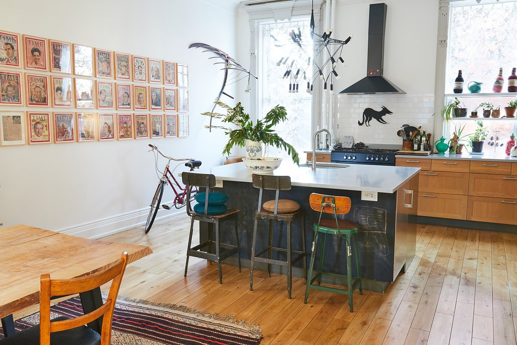 Sophie Demenge's Brooklyn Home Tour (With a Trapeze!) | A