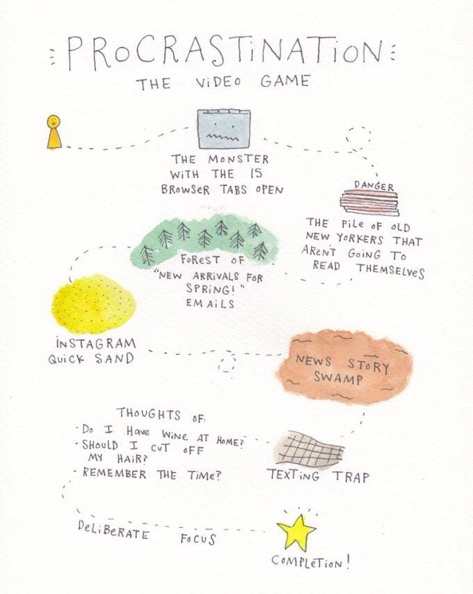 Procrastination by Mari Andrew