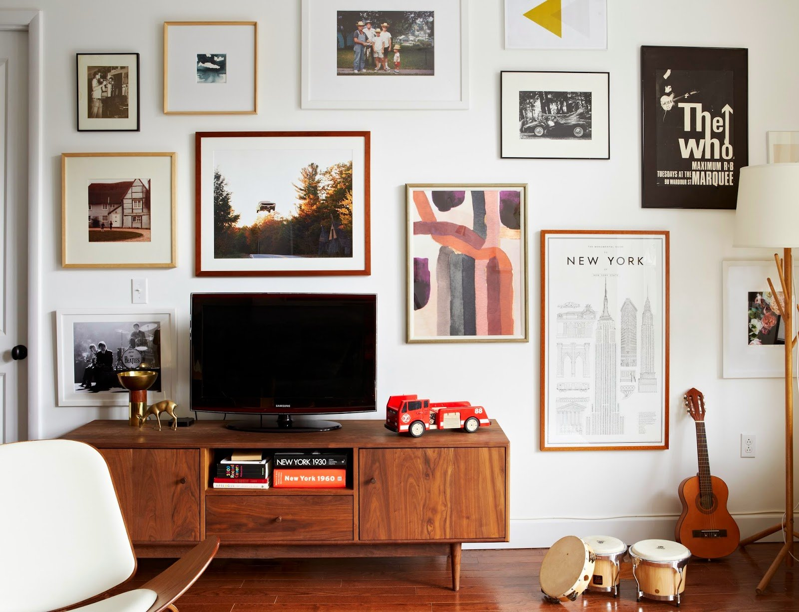 11 Cool Ways to Display Family Photos | A Cup of Jo