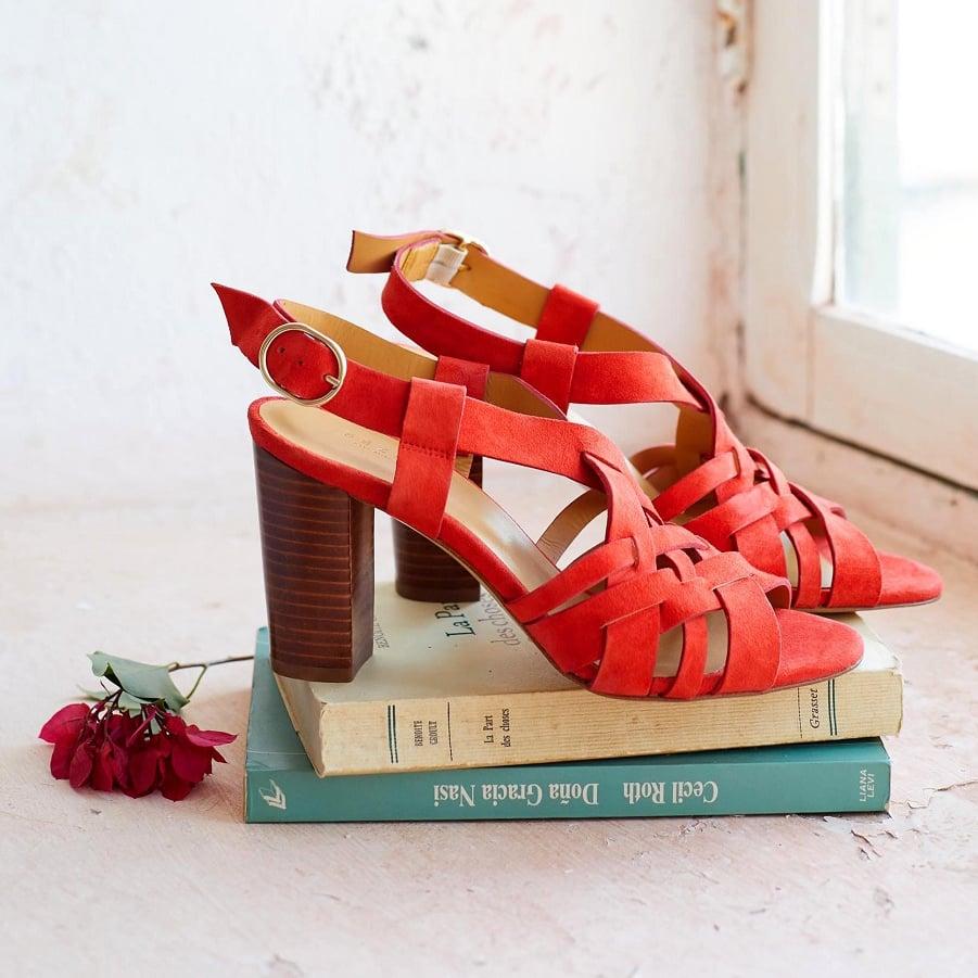 Sezane High Estelle sandals