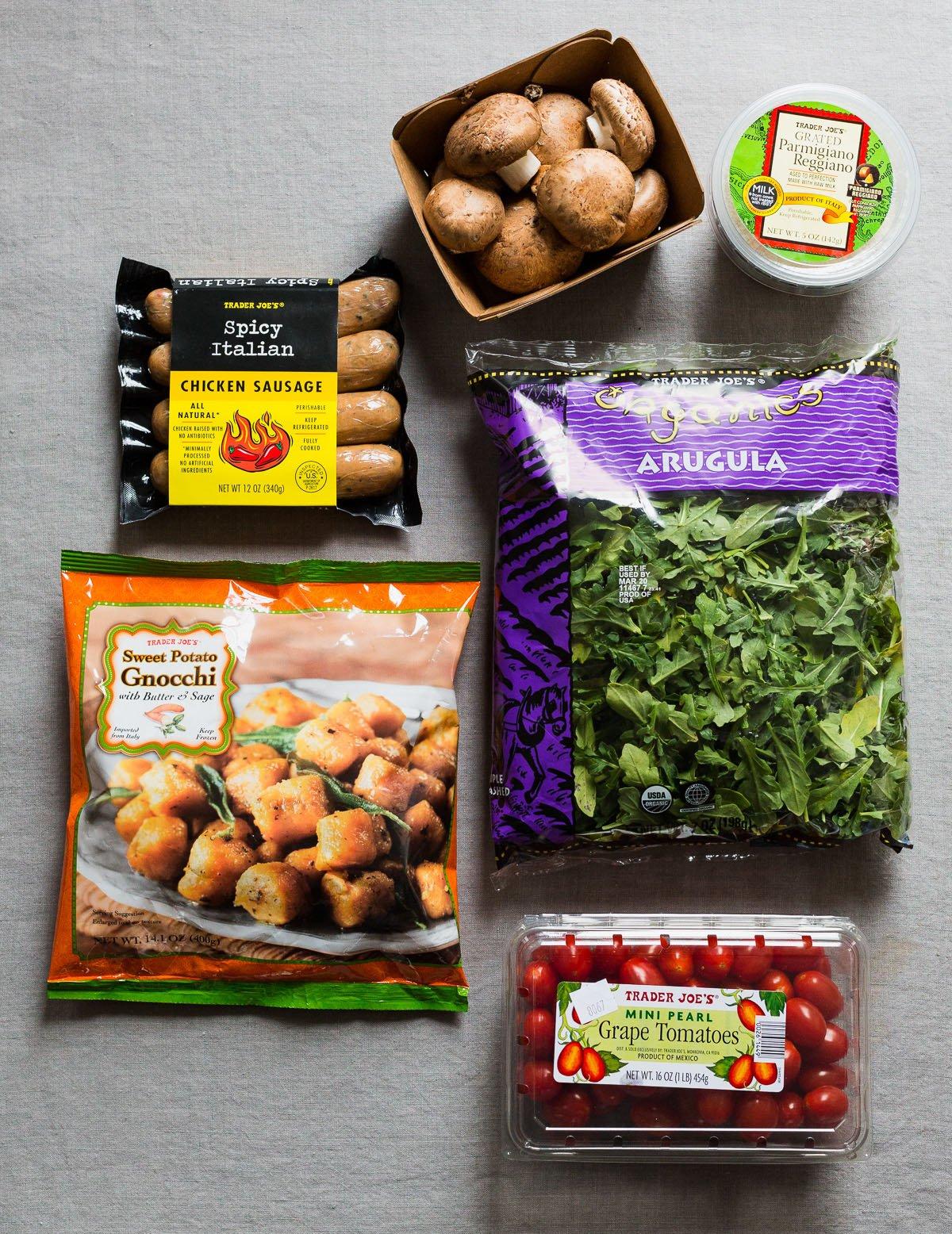 Trader joe 39 s dinner hack with sweet potato gnocchi for Trader joe s fish