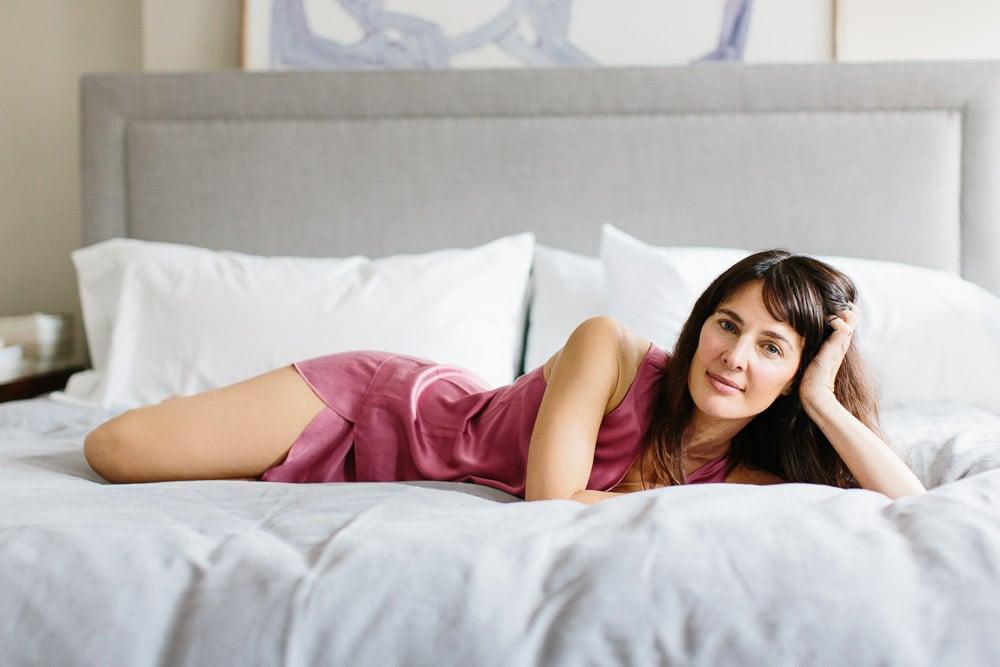 652ecc580a What Do You Wear to Bed  Lunya Sleepwear