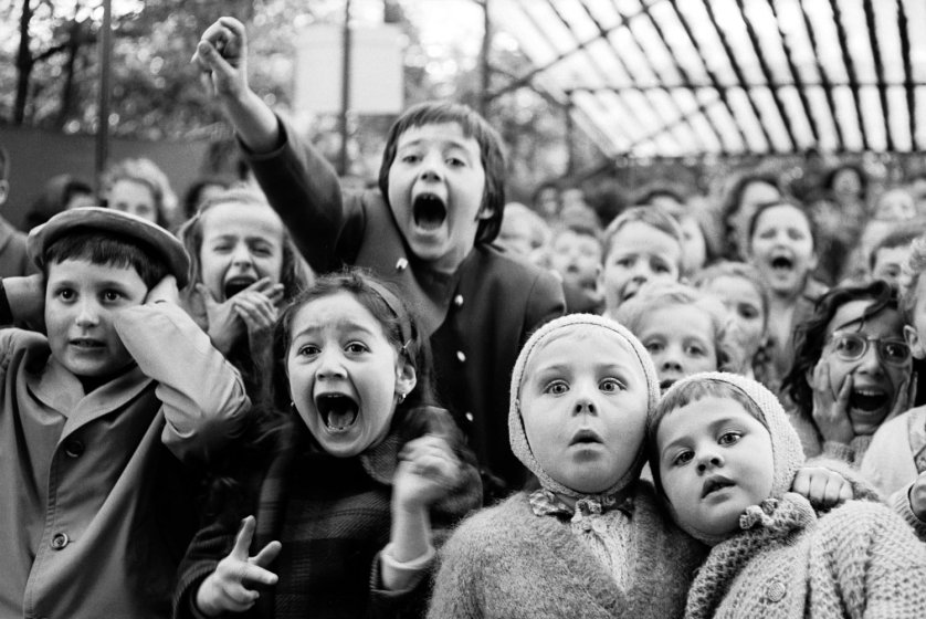 St. George Dragon Puppet Show in Paris by Alfred Eisenstaedt