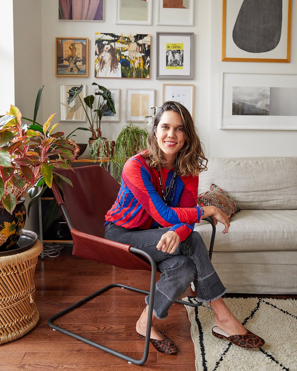 Gisela Gueiros Brooklyn Home Tour