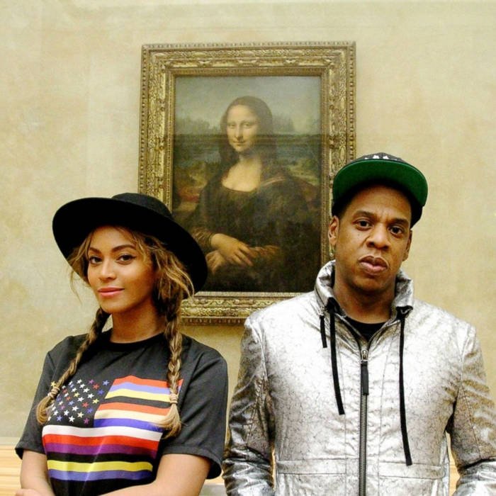 Beyonce and Jay Z at the Louvre