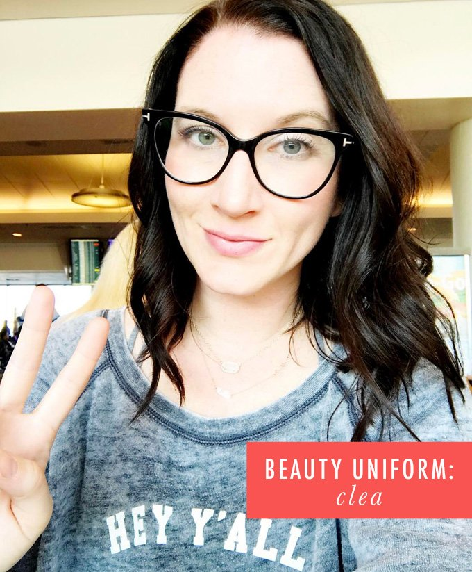 My Beauty Uniform: Clea Shearer