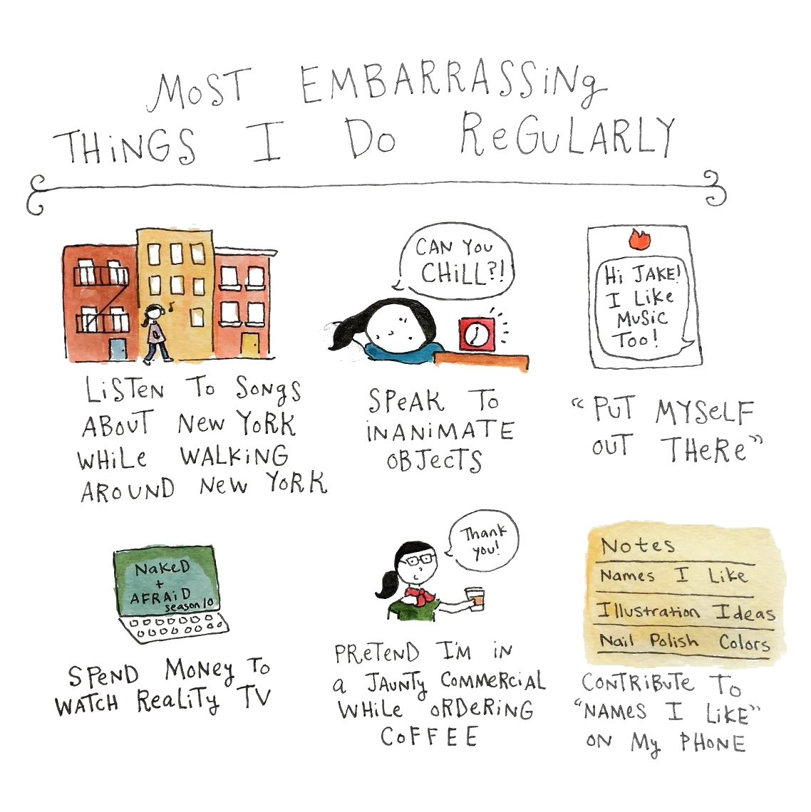 Embarrassing Routines