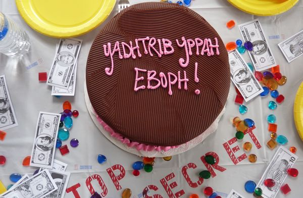secret agent cake