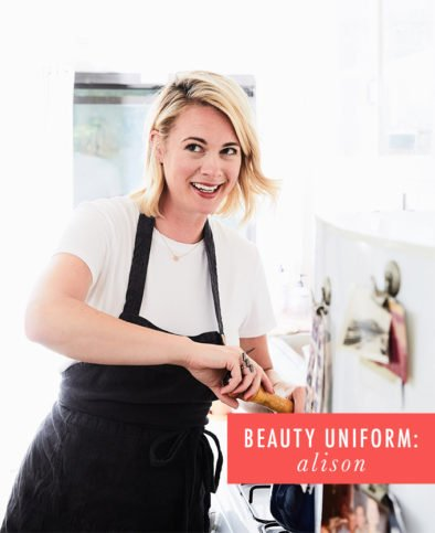 My Beauty Uniform: Alison Roman