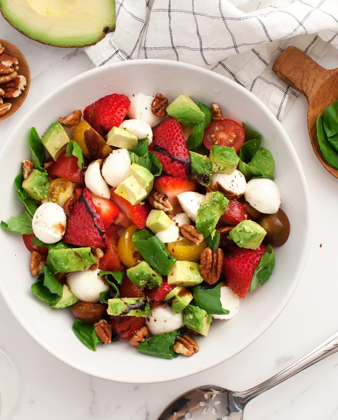 Avocado Caprese Salad (Because!)