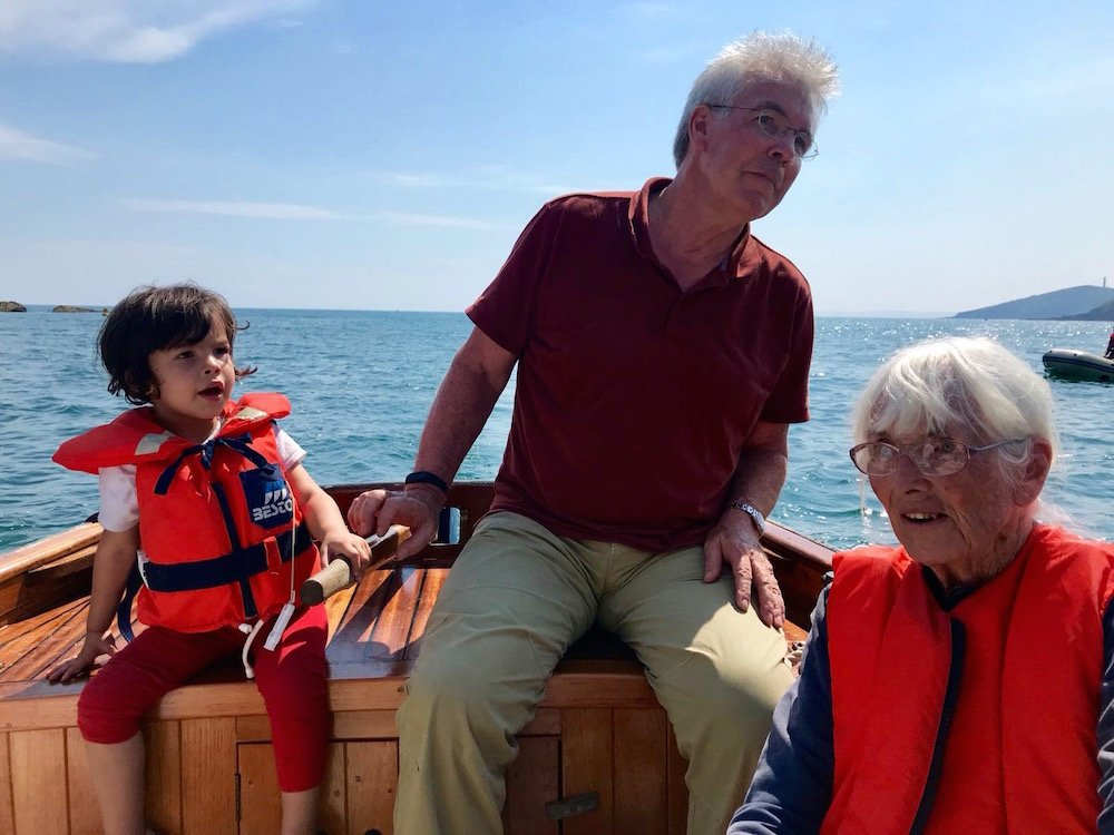 Polruan boat ride