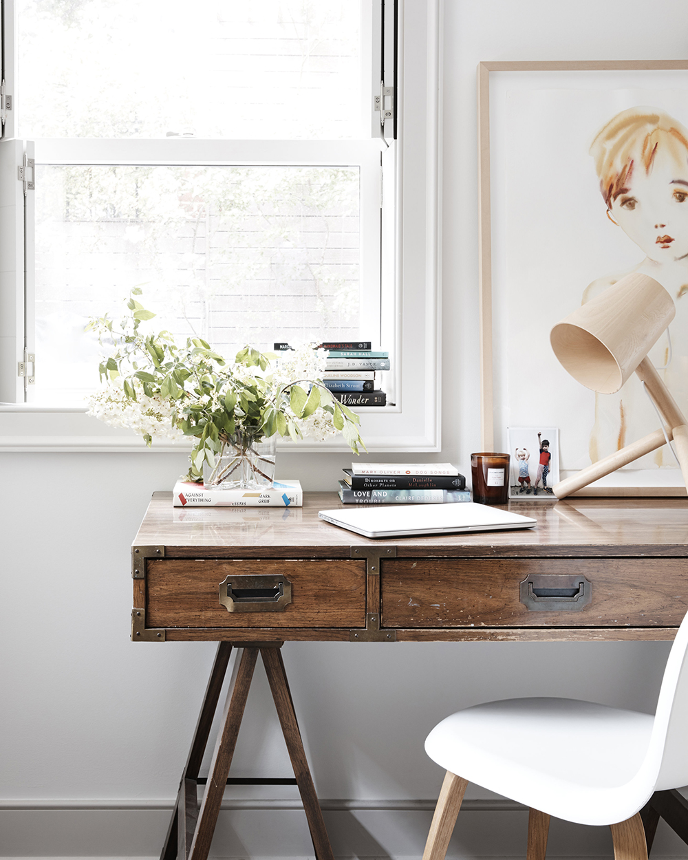 f253bcd77 Years ago, with my friend Jenny Komenda's help, we found my beloved desk on  eBay. Since then, we've been hooked on using eBay to find beautiful things,  ...