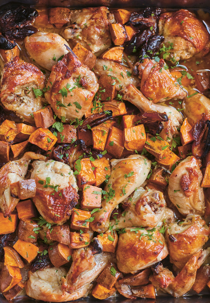One-Pan Roasted Chicken by Julia Turshen