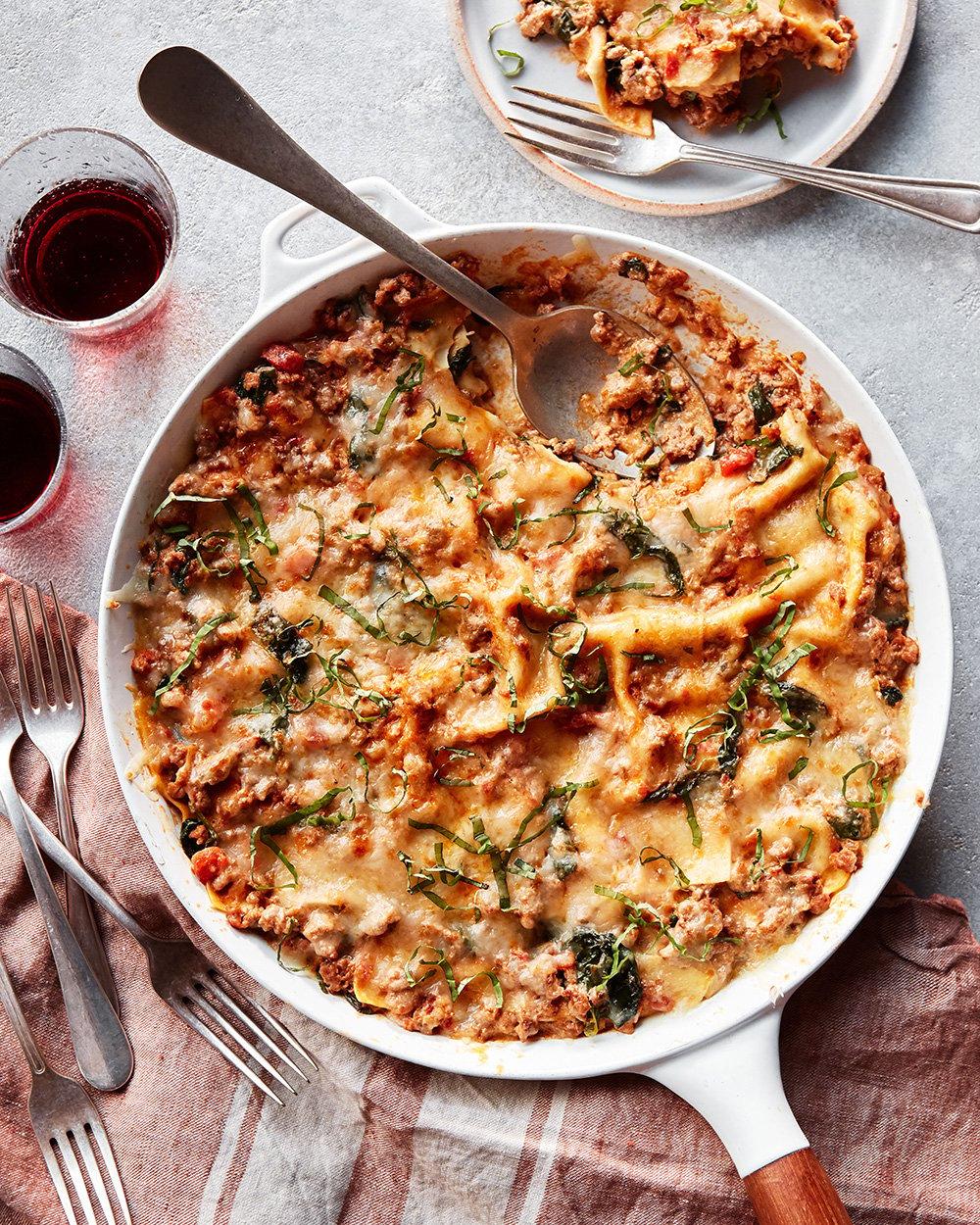 Stovetop Lasagna
