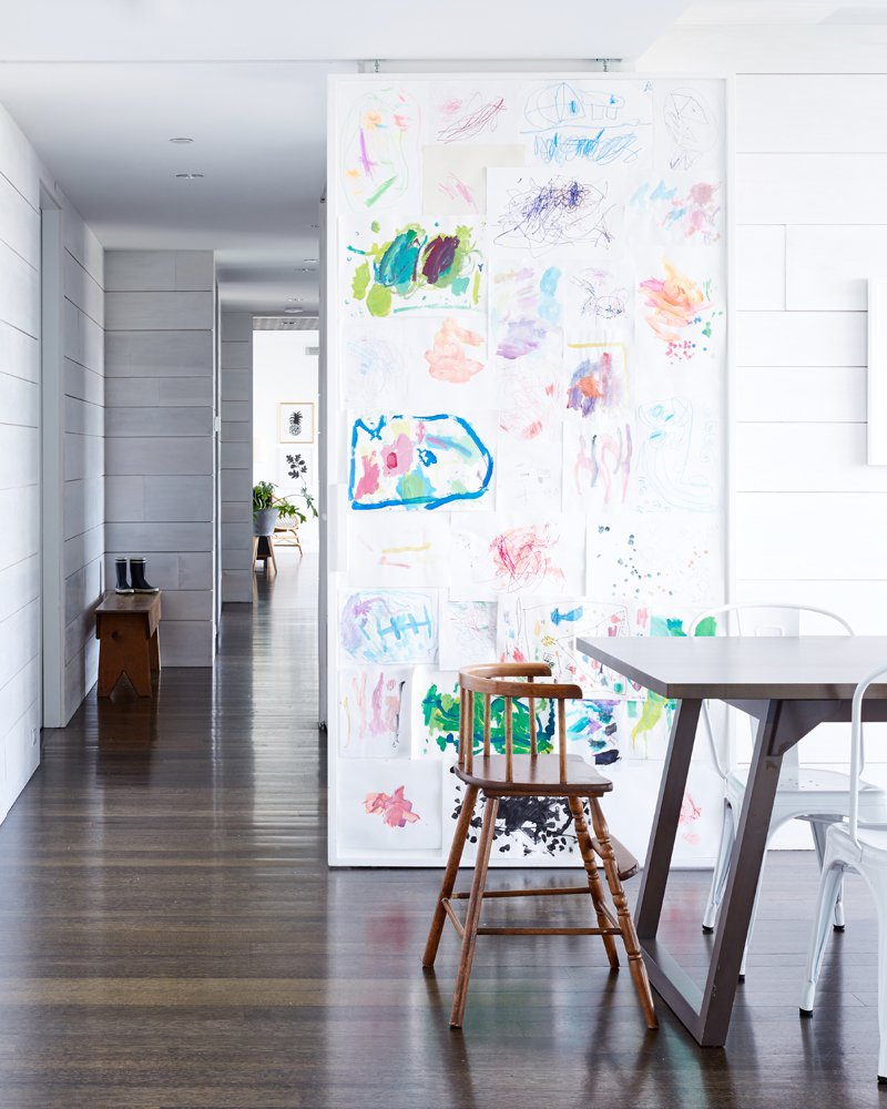 Five ways to hang kids' artwork
