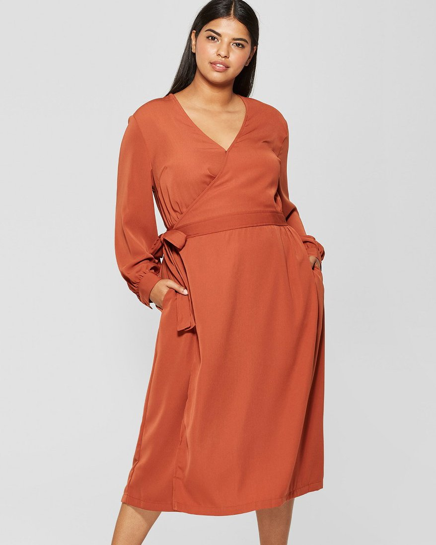 Spice Wrap Dress