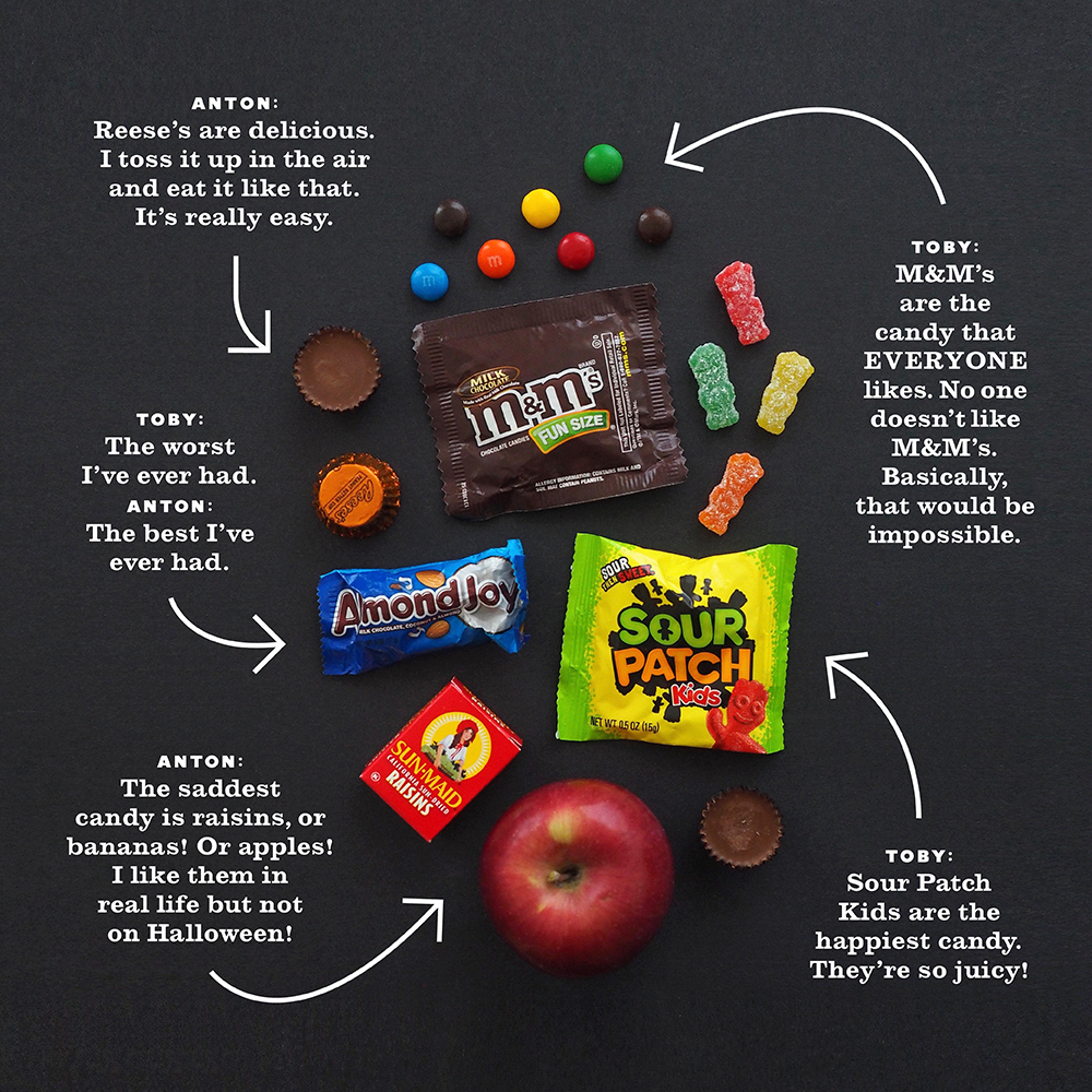 Halloween candy trading guide