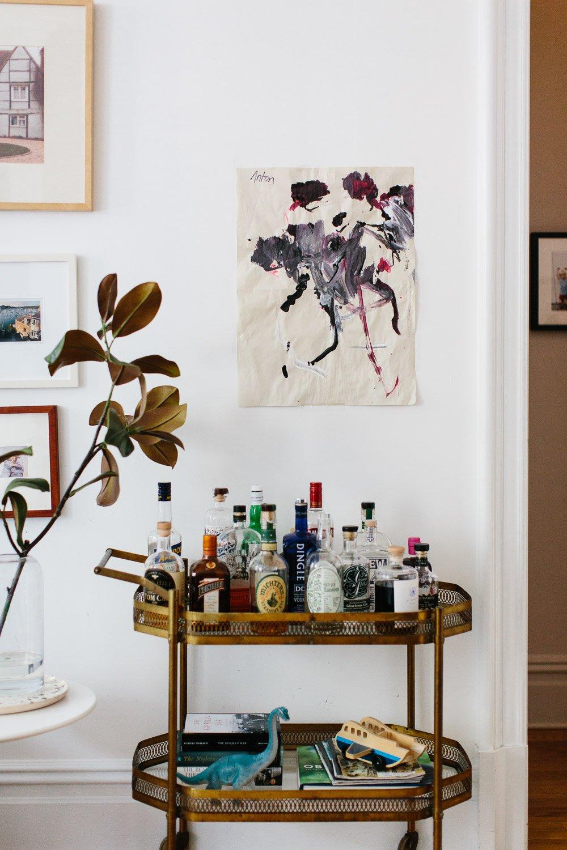 Five ways to hang kids' artwork