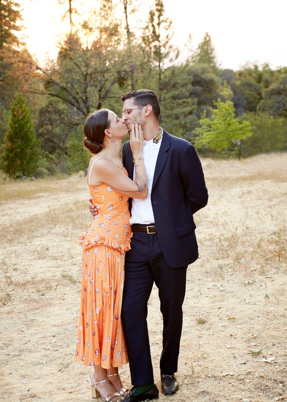 Caitlin Mociun's wedding