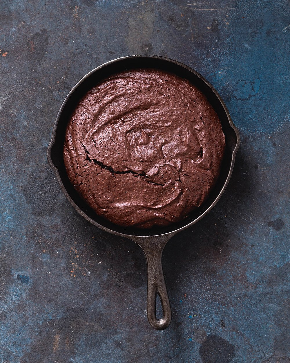 The Easiest (Gooey-est) Skillet Brownies