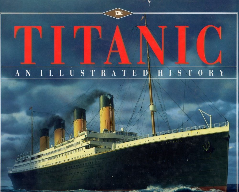 titanic illustrated history