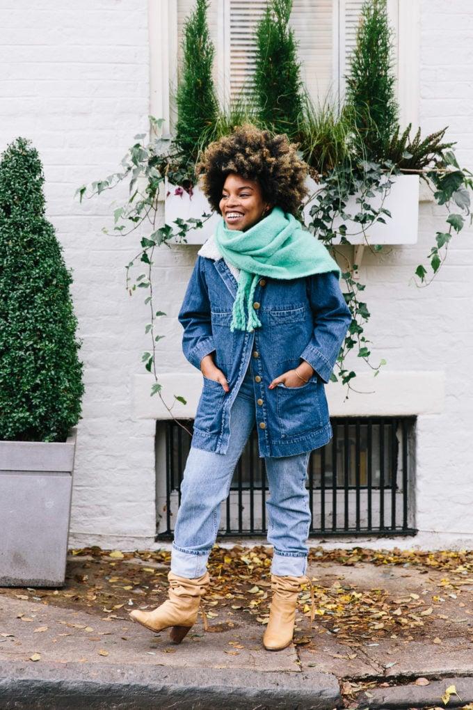 Three Ways to Wear a Scarf