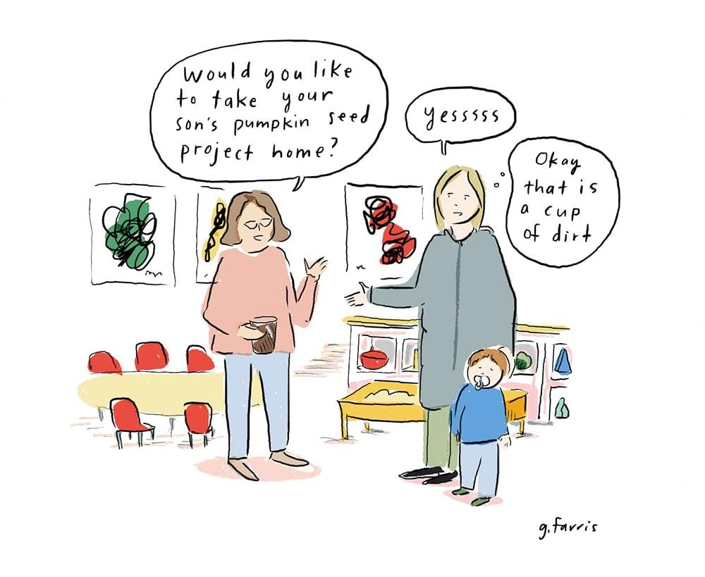 Grace Farris comic