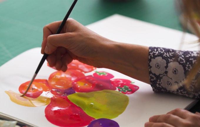 Skillshare Painting Class