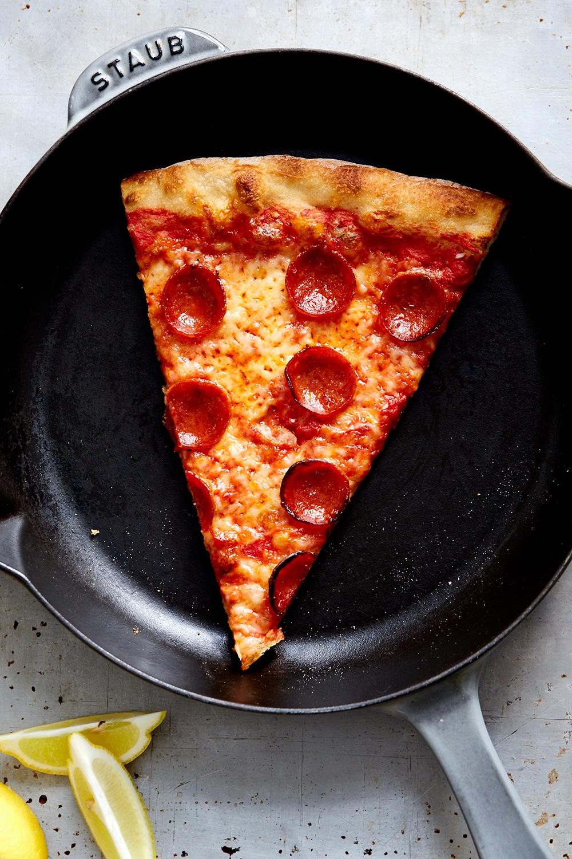 Skillet pizza
