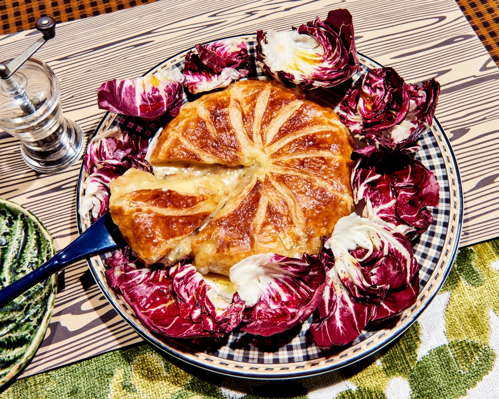 Grocery store baked camembert