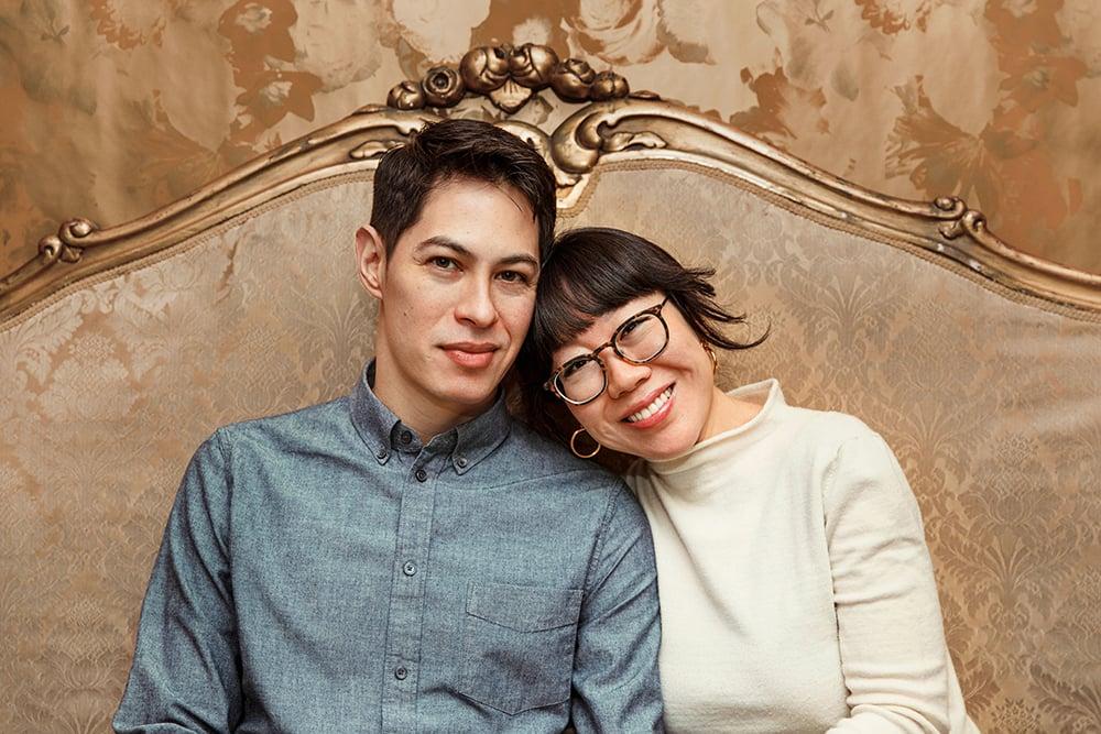 Christine Han and Tocha