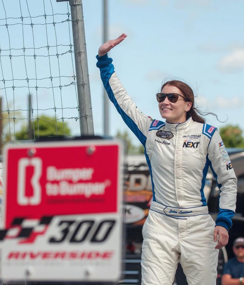My Beauty Uniform: Julia Landauer race car driver