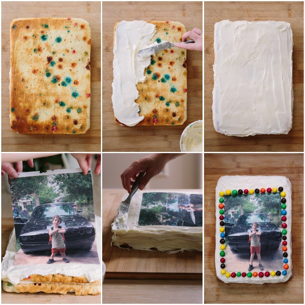 Fine How To Make A Photo Birthday Cake A Cup Of Jo Funny Birthday Cards Online Hendilapandamsfinfo