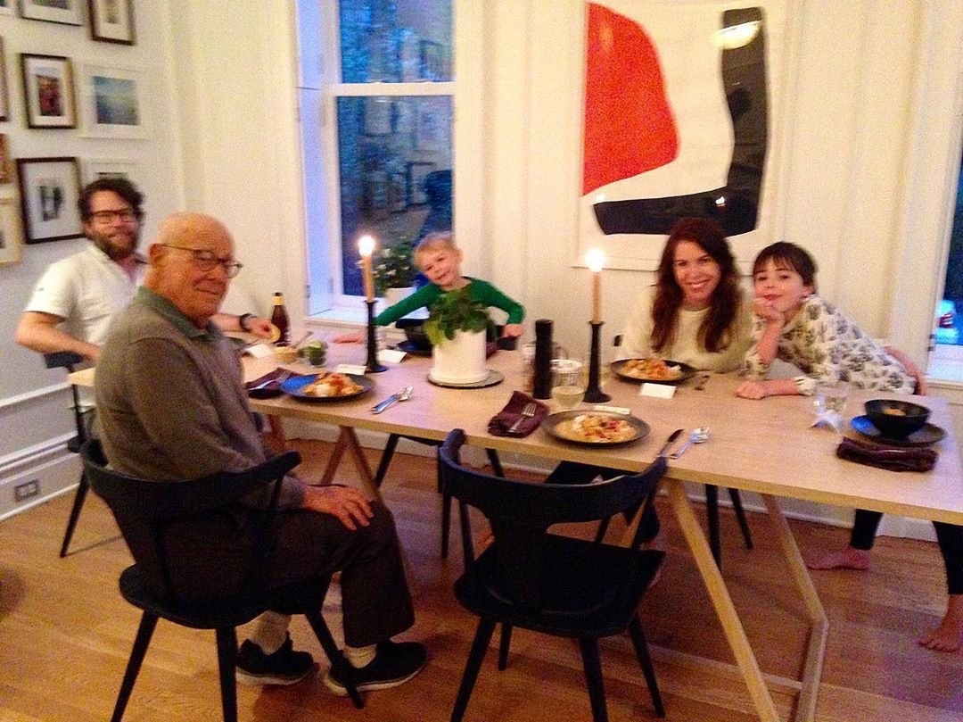Joanna Goddard family dinner
