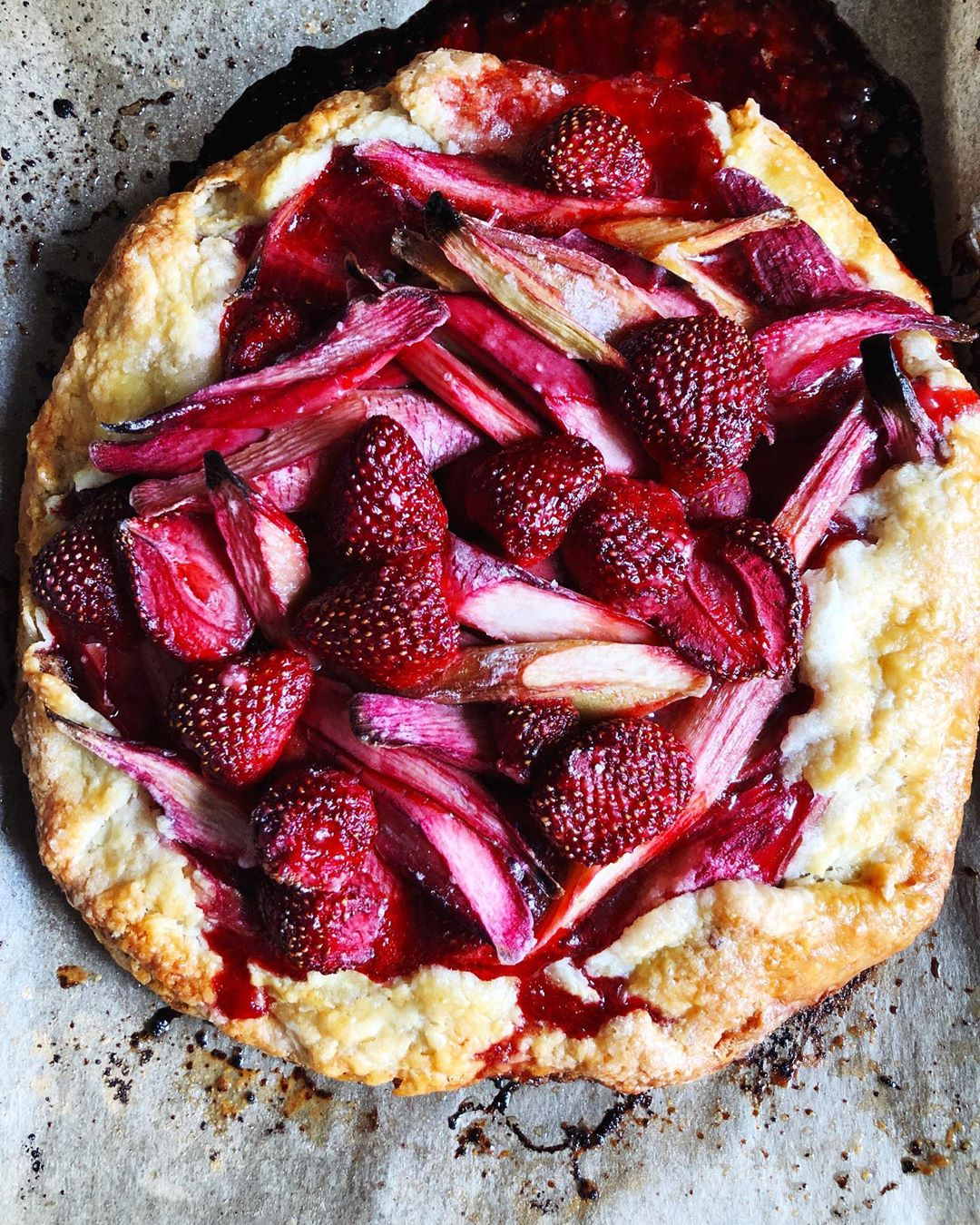 Strawberry Galette by Sarah Jampel