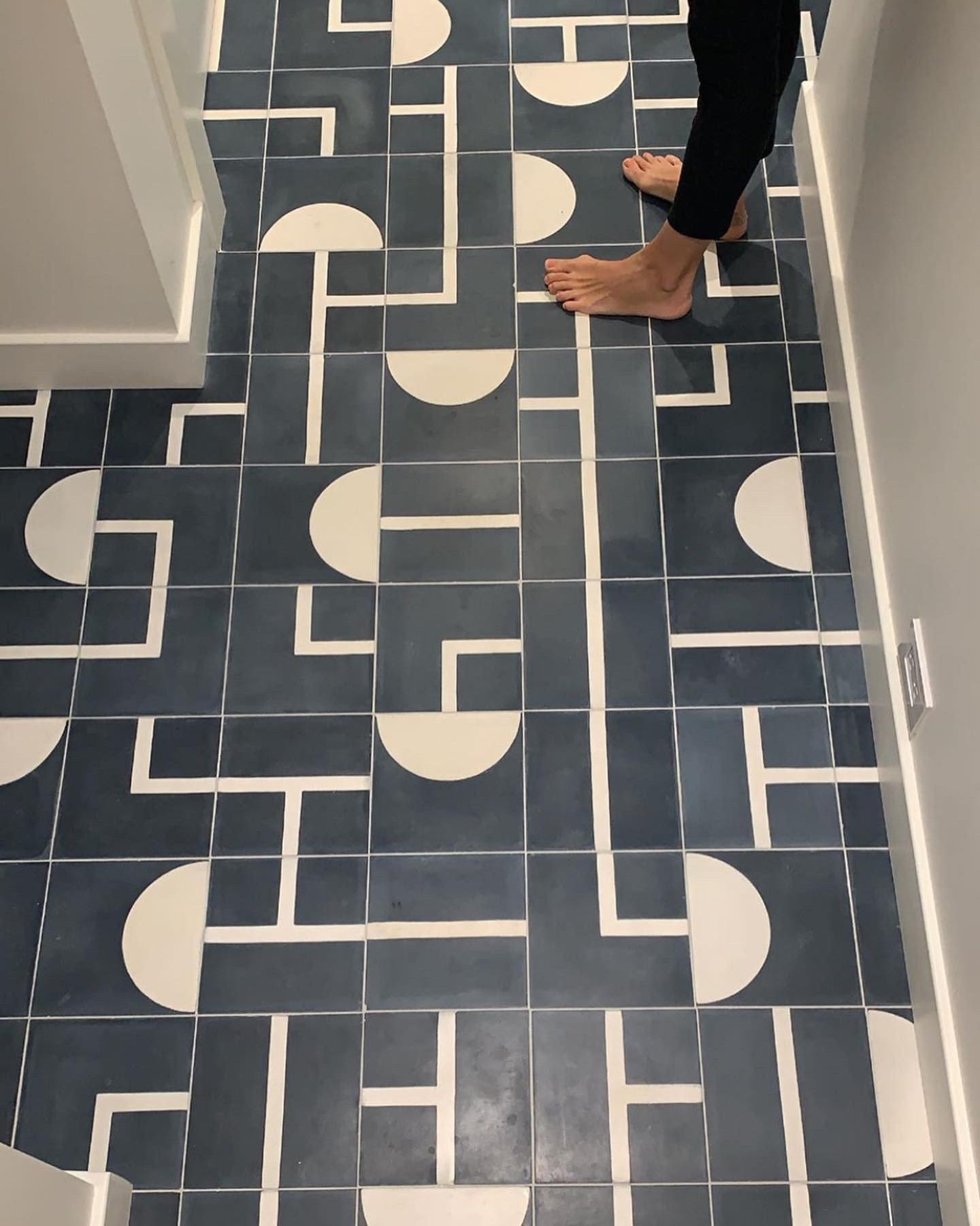 Popham tiles