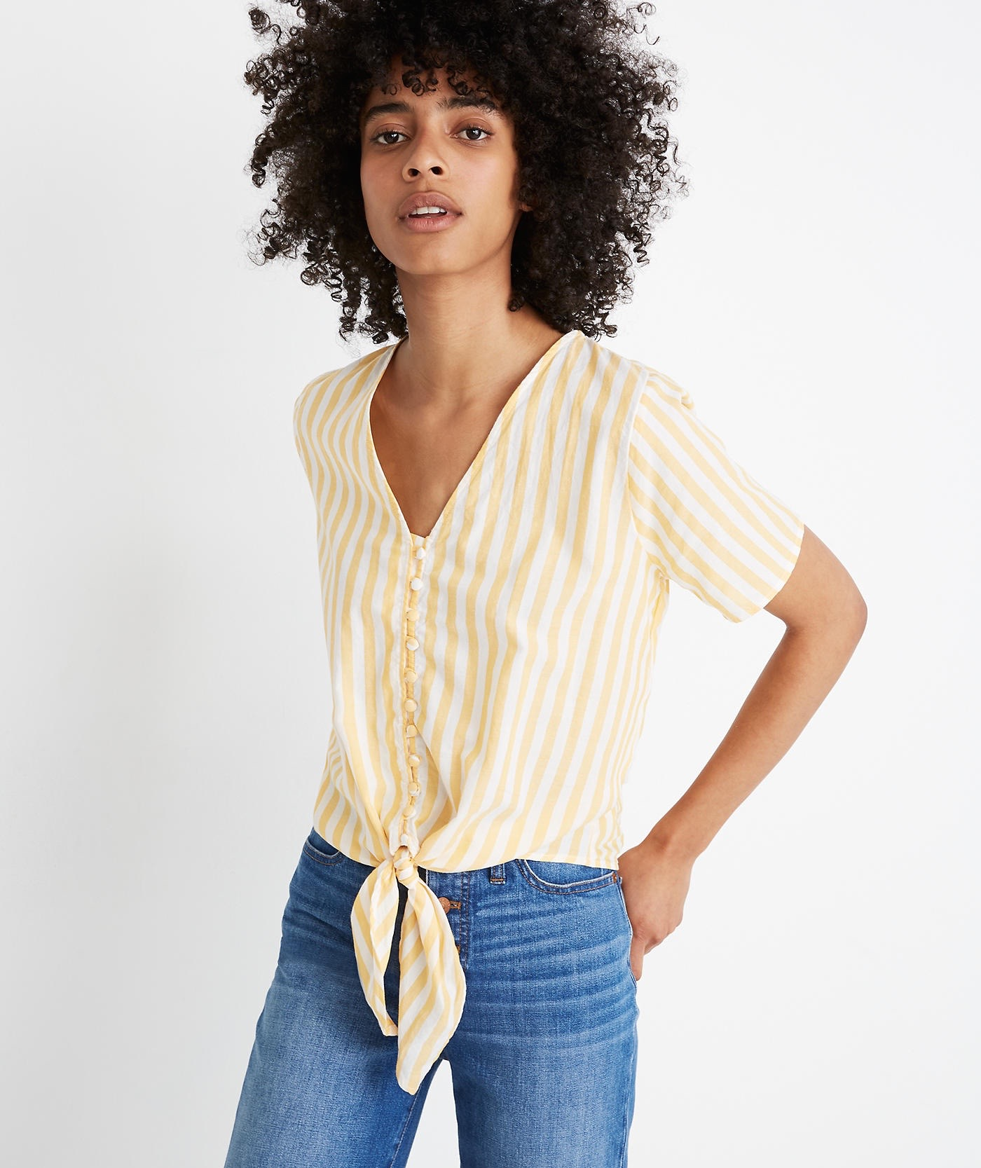 Striped shirt by Madewell