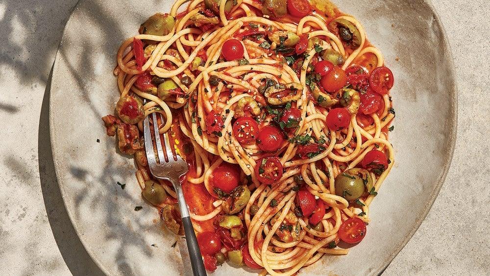 best spaghetti puttanesca