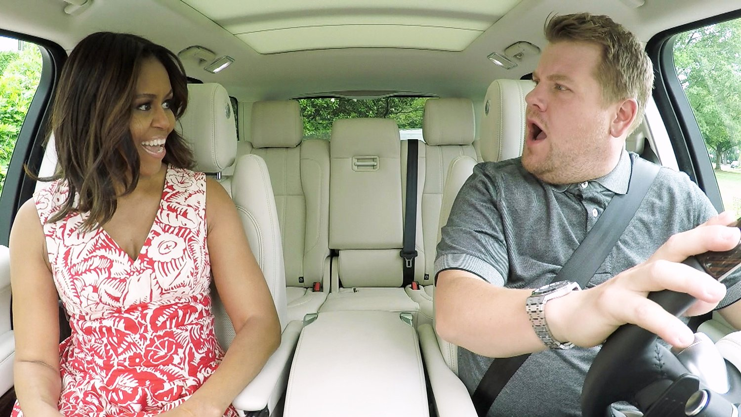 Michelle Obama on Carpool Karaoke