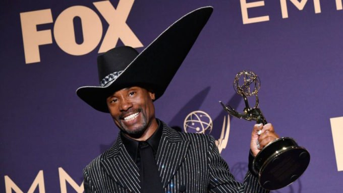 Billy Porter Emmy Hat