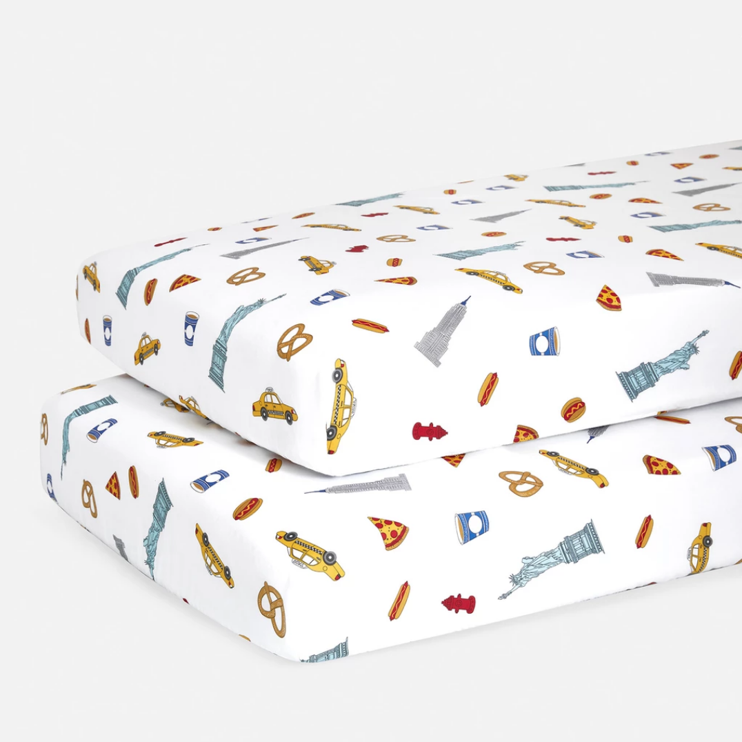 brooklinen crib sheets