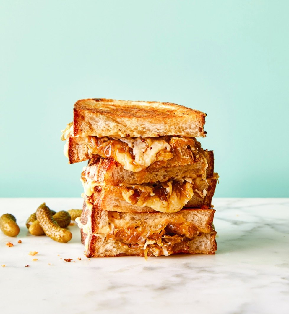 A Grown-Up Grilled Cheese