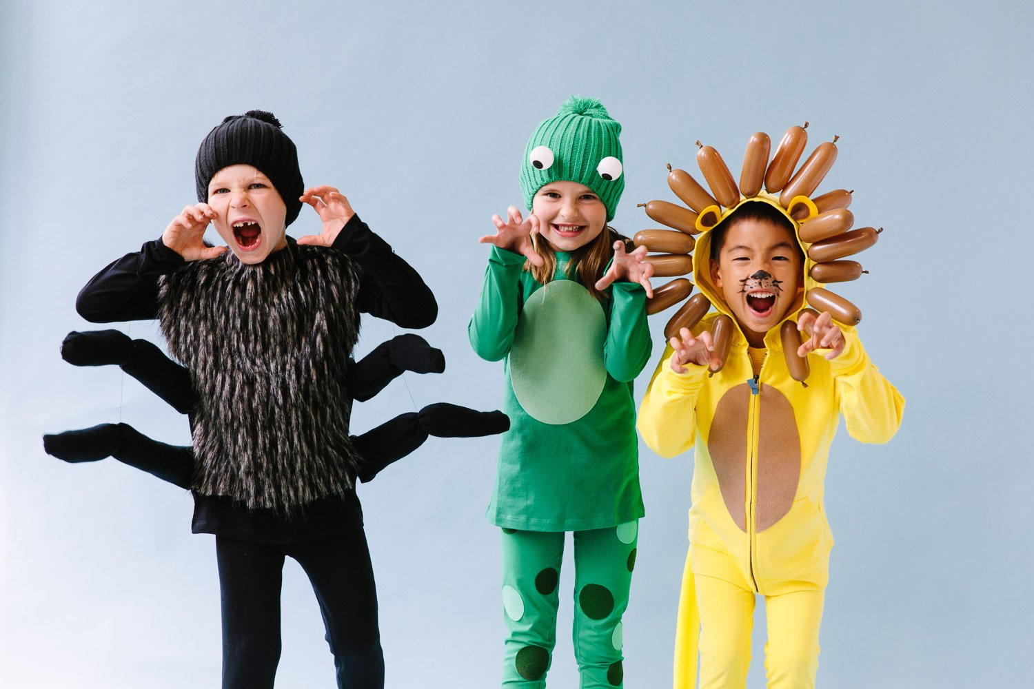 Three Easy Halloween Costumes by Primary